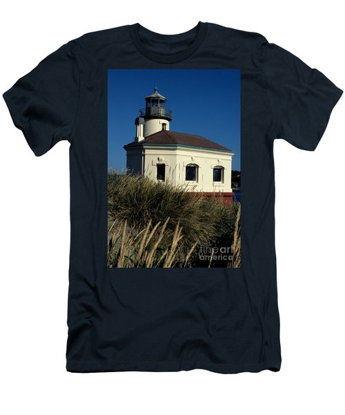 Men's T-Shirt (Slim Fit) featuring the photograph Coquille Light by Sharon Elliott