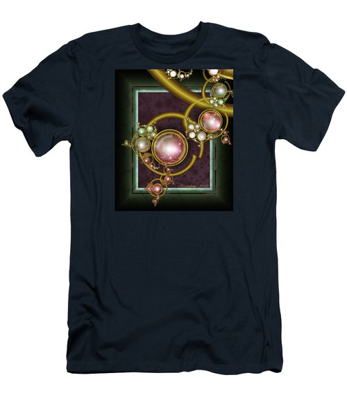 Cosmic Crystals Men's T-Shirt (Athletic Fit)