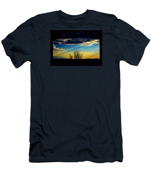 Desert Dusk Men's T-Shirt (Slim Fit) by Susanne Still