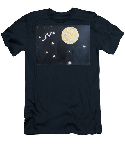 Men's T-Shirt (Slim Fit) featuring the painting Dream by Sonali Gangane
