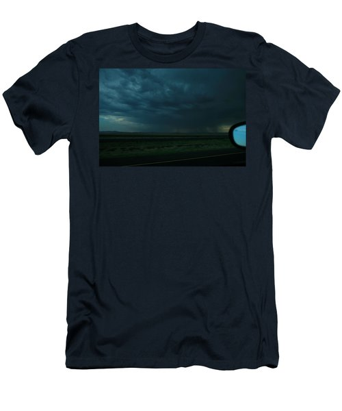 Men's T-Shirt (Slim Fit) featuring the photograph Driving Rain Number Two by Lon Casler Bixby