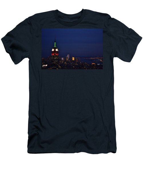 Empire State Building3 Men's T-Shirt (Athletic Fit)