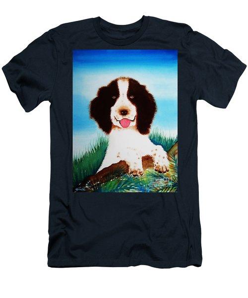 English Springer Spaniel Men's T-Shirt (Athletic Fit)