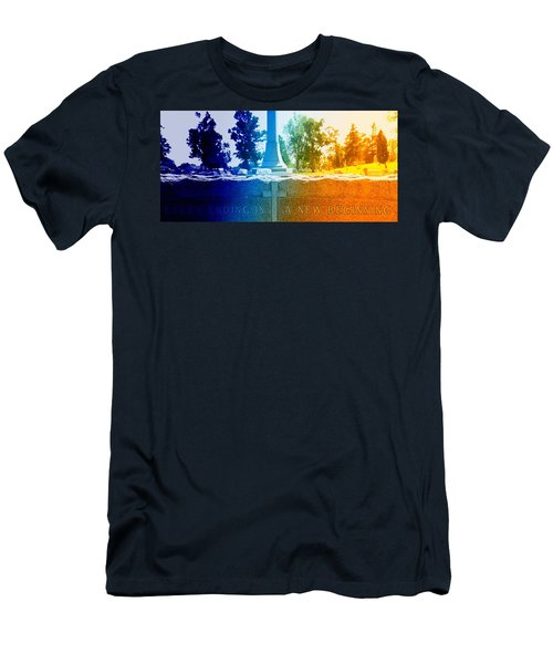 Every Ending Men's T-Shirt (Slim Fit) by Lisa Brandel