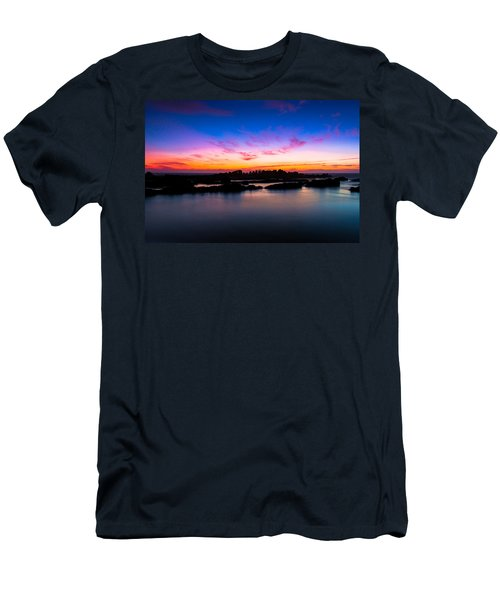 Figures To Sunset Men's T-Shirt (Athletic Fit)