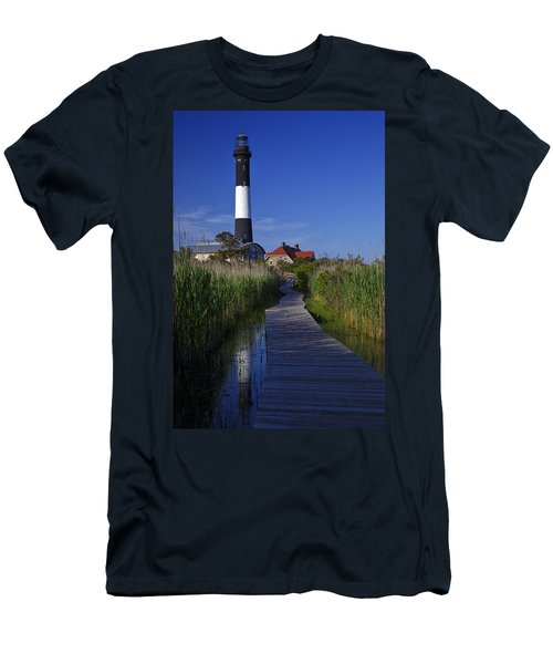 Fire Island Reflection Men's T-Shirt (Athletic Fit)