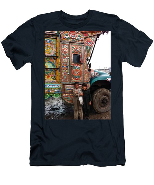 Friends - Take Me For A Ride In Your Jingly Truck Men's T-Shirt (Athletic Fit)