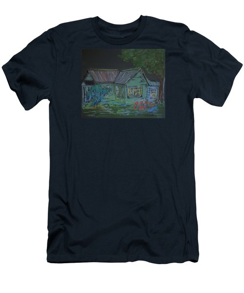Gabby's House Men's T-Shirt (Slim Fit) by Francine Frank