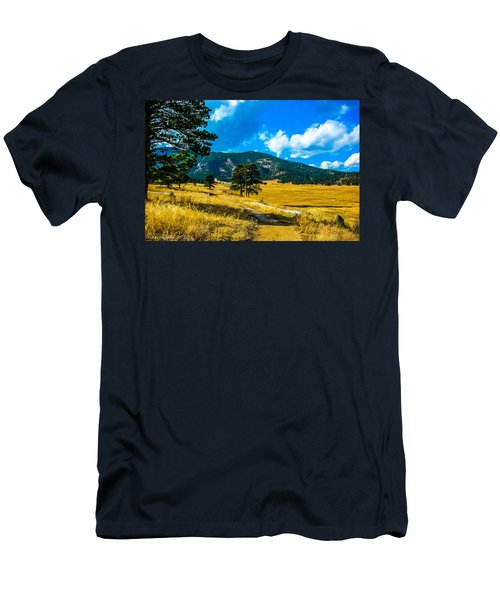 Men's T-Shirt (Slim Fit) featuring the photograph God's Country by Shannon Harrington
