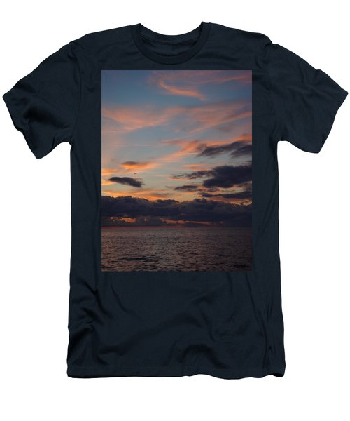 Men's T-Shirt (Slim Fit) featuring the photograph God's Evening Painting by Bonfire Photography
