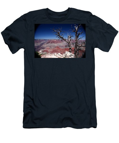 Men's T-Shirt (Slim Fit) featuring the photograph Grand Canyon Number One by Lon Casler Bixby