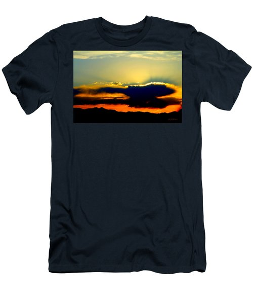 Men's T-Shirt (Slim Fit) featuring the photograph Heaven Is Watching by Jeanette C Landstrom