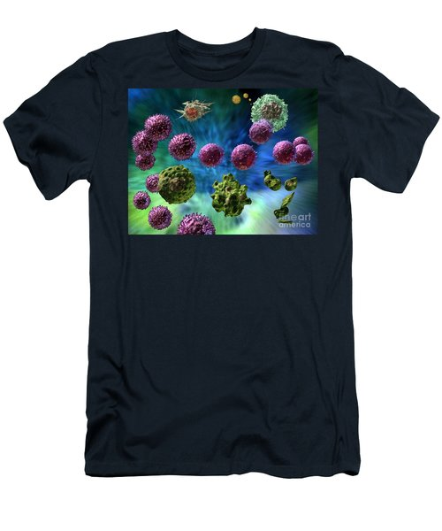 Immune Response Cytotoxic 1 Men's T-Shirt (Athletic Fit)