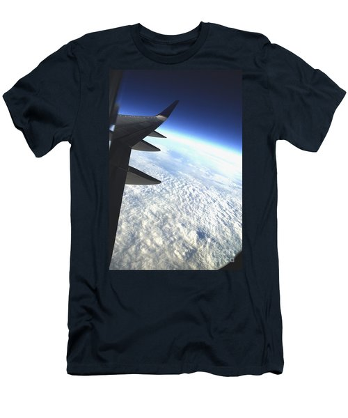 in Orbit Men's T-Shirt (Slim Fit) by Micah May