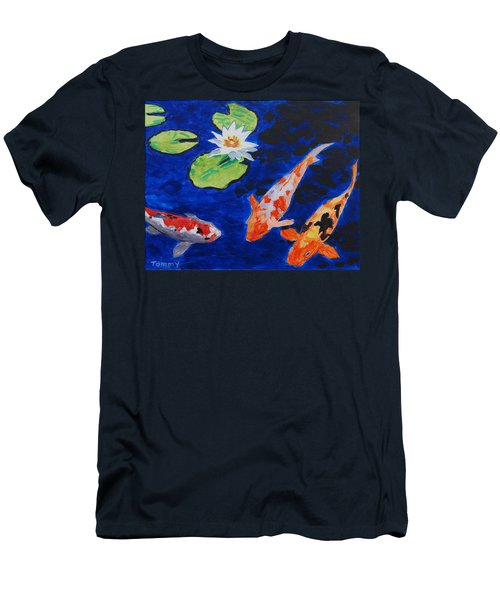 Just Being Koi Men's T-Shirt (Athletic Fit)