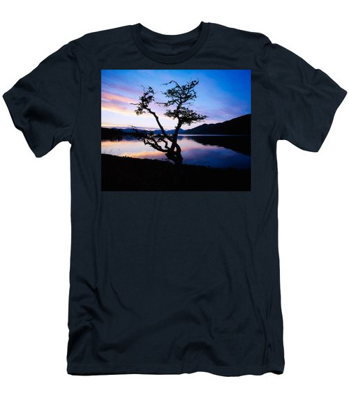 Kylemore Lake, Connemara, Co Galway Men's T-Shirt (Athletic Fit)