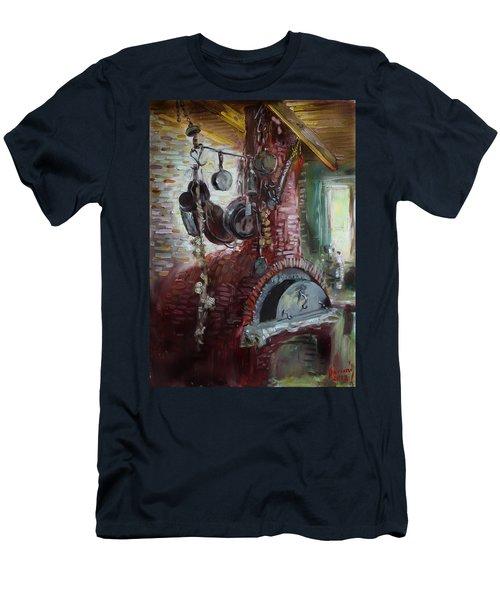 Greek Furno  Men's T-Shirt (Athletic Fit)
