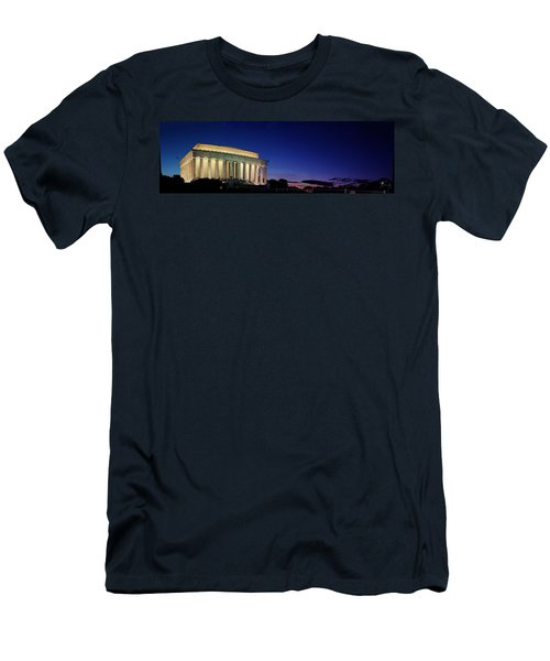 Lincoln Memorial At Sunset Men's T-Shirt (Athletic Fit)