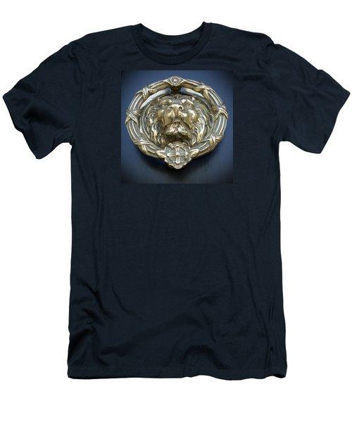 Lions Gate Men's T-Shirt (Slim Fit) by Jean Haynes