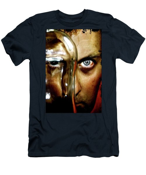Men's T-Shirt (Slim Fit) featuring the photograph Mad Man by Pedro Cardona