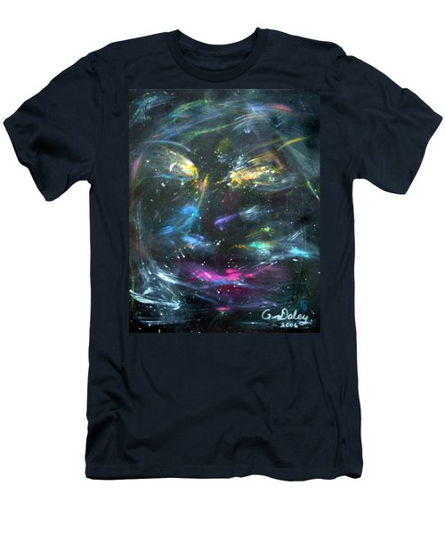 Nebula's Face Men's T-Shirt (Athletic Fit)