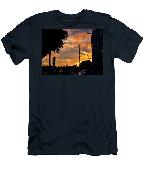 October Sunset 6 Men's T-Shirt (Athletic Fit)