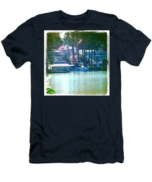 On The Lake - Lake Oswego Or Men's T-Shirt (Athletic Fit)
