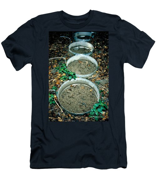 Pcb Eating Microbes Men's T-Shirt (Athletic Fit)