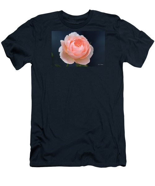 Peaches And Cream  Men's T-Shirt (Slim Fit) by Amy Gallagher
