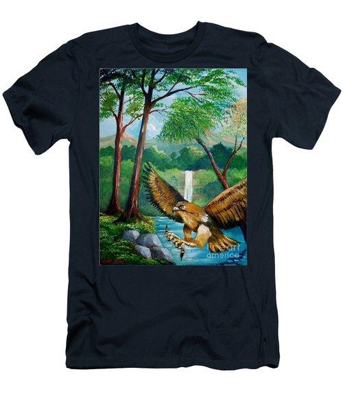 Presa Atrapada Men's T-Shirt (Athletic Fit)