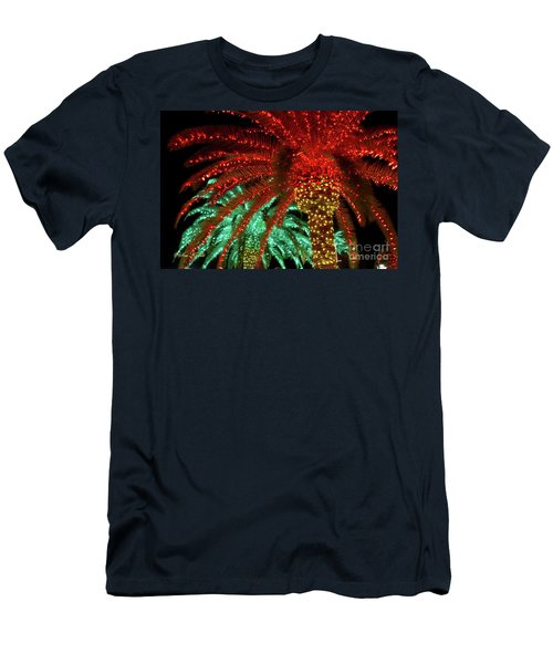 Red Palms Men's T-Shirt (Athletic Fit)