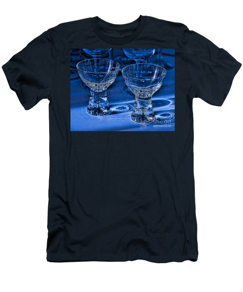 Reflections In Blue Men's T-Shirt (Athletic Fit)