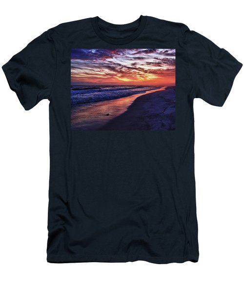 Romar Beach Sunset Men's T-Shirt (Athletic Fit)
