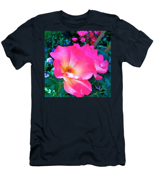 Roses From Anna's Gardens Men's T-Shirt (Athletic Fit)