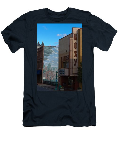 Roxy Theater And Mural Men's T-Shirt (Athletic Fit)