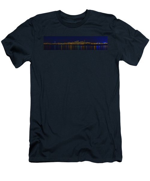 Seattle Moody Blues Men's T-Shirt (Slim Fit) by James Heckt
