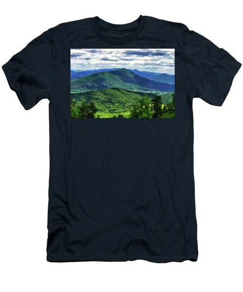 Shadows On The Mountains Men's T-Shirt (Athletic Fit)