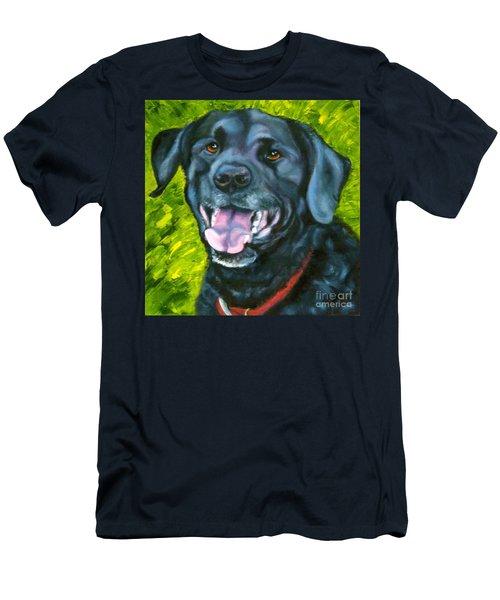 Smiling Lab Men's T-Shirt (Athletic Fit)