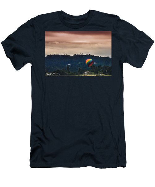 Snohomish Baloon Ride Men's T-Shirt (Athletic Fit)