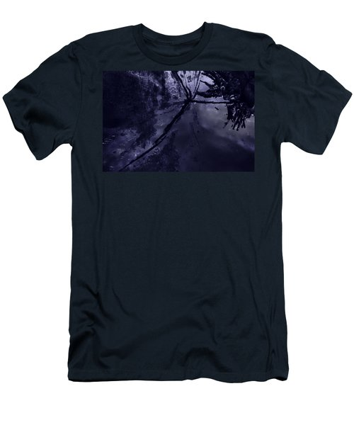 Space Dropping Men's T-Shirt (Athletic Fit)