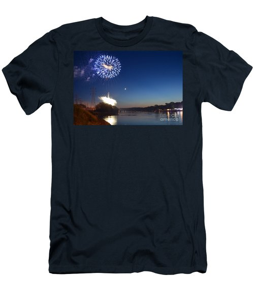 Sparkling Water  Men's T-Shirt (Slim Fit) by Sue Stefanowicz