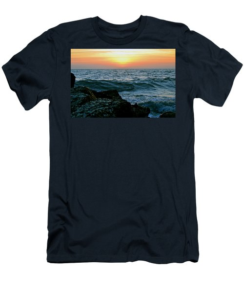 Sunset Captiva Men's T-Shirt (Athletic Fit)