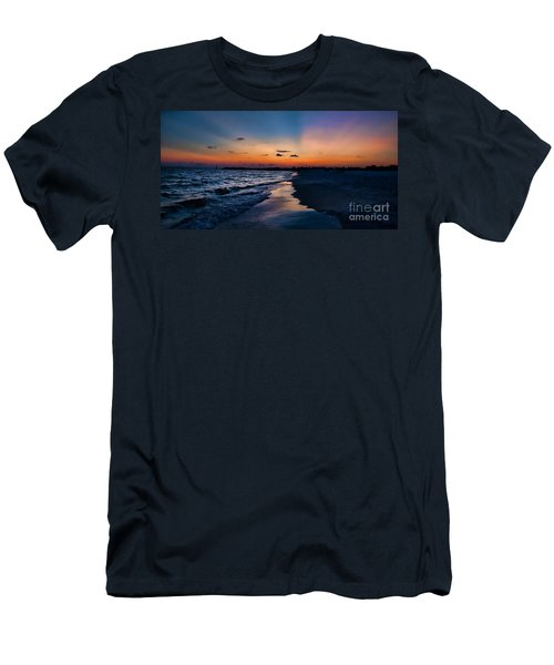 Sunset On The Beach Men's T-Shirt (Athletic Fit)