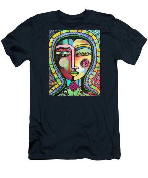 -talavera Virgin Of Guadalupe Protection Men's T-Shirt (Athletic Fit)