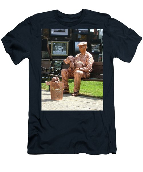 The Dog And Me Men's T-Shirt (Athletic Fit)