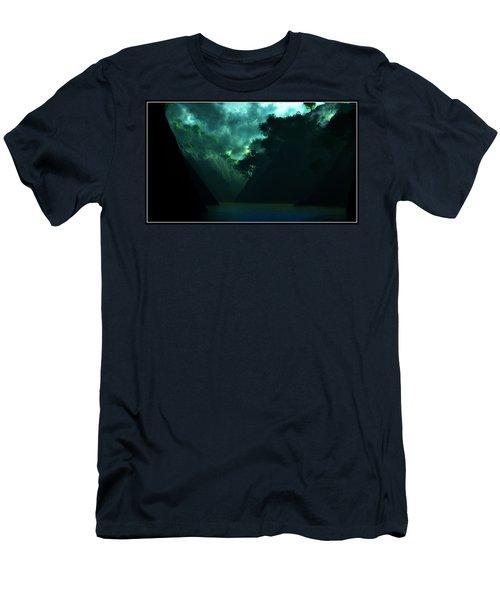 Men's T-Shirt (Slim Fit) featuring the digital art The Majesty... by Tim Fillingim