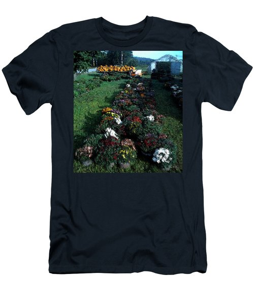 Men's T-Shirt (Athletic Fit) featuring the photograph The Stand In Autumn by Wayne King