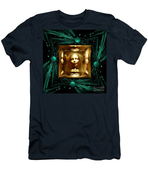 Thoughts Mirror Box Men's T-Shirt (Slim Fit) by Rosa Cobos