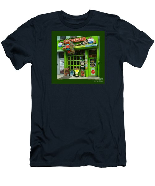 Trailer Park Men's T-Shirt (Slim Fit) by Patricia Overmoyer