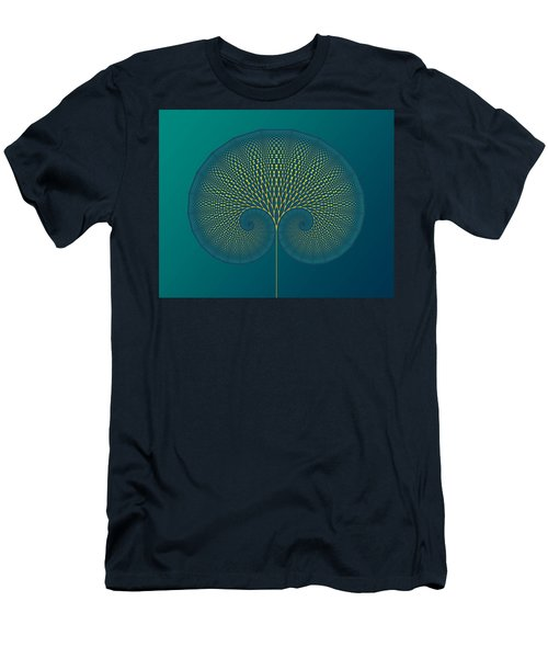 Tree Of Well-being Men's T-Shirt (Athletic Fit)